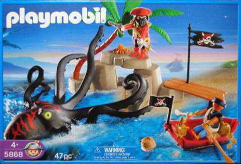 Playmobil 5868-usa - octopus attack - Box