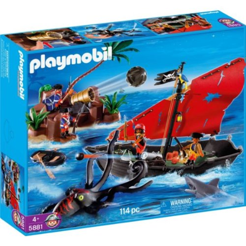 Playmobil 5881-usa - Pirates Super Set - Box
