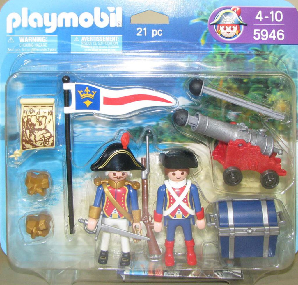 Playmobil 5946-usa - soldiers big blister - Box
