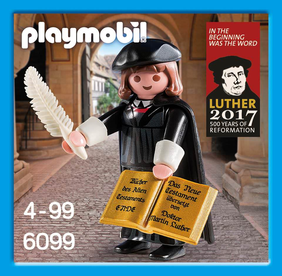 Playmobil 6099-ger - Martin Luther - Box
