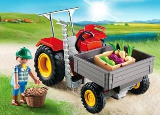 Playmobil - 6131 - Ladetraktor