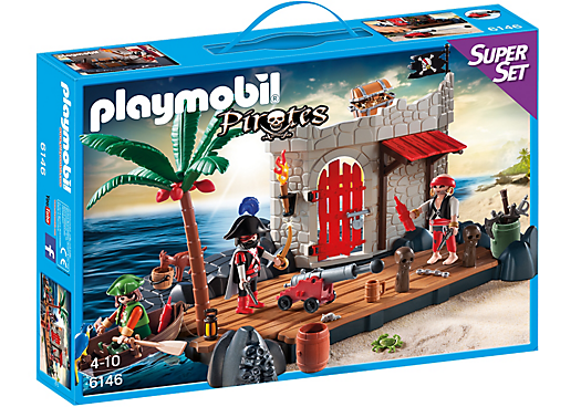 Playmobil 6146 - Pirate Fort SuperSet - Box