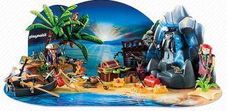 "Playmobil - 6625 - advent calendar ""mysterious treasure island"""