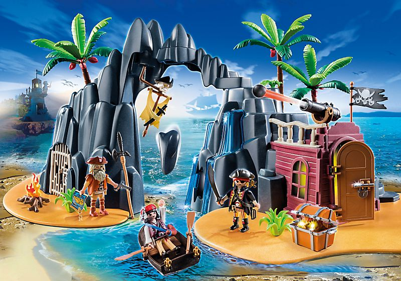 playmobil set: 6679 - pirates treasure island - klickypedia