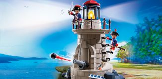 Playmobil - 6680v1 - Soldiers light-tower