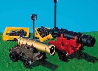Playmobil - 7160-usa - 2 Cannons (Non-Shooting)