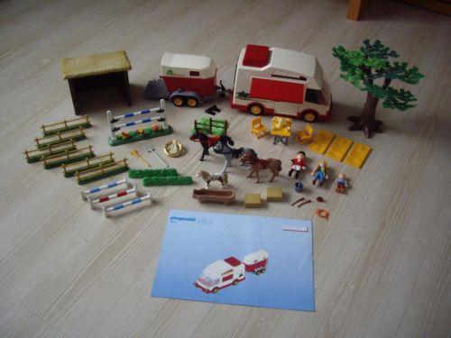 Playmobil 4074 - Equestrians - Back