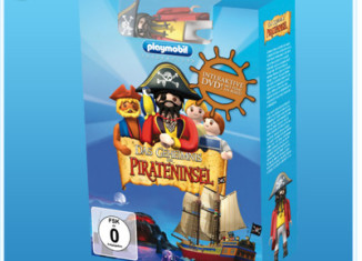 Playmobil - 80234 - Interactive DVD - The Secret of the Pirate Island + figure
