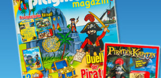 Playmobil - 80531-ger - magazine nr. 22 / pirate figur