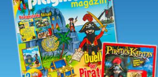 Playmobil - 80531-ger - revista nr. 22 / figura pirata