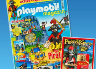 Playmobil - 80531-ger - magazine nr. 22 / pirate figur