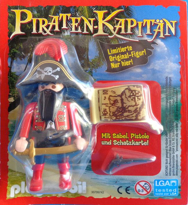 Playmobil 80531-ger - magazine nr. 22 / pirate figur - Box