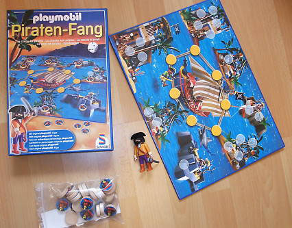 Playmobil 80418 - pirate capture game - Back
