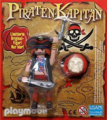 Playmobil 80512-ger - magazine nr. 12 / pirate figure - Box