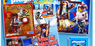 Playmobil - 80512-ger - Playmobil Magazin 4/11 / Piraten-Käpitän