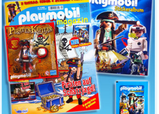 Playmobil - 80512-ger - magazine nr. 12 / pirate figure