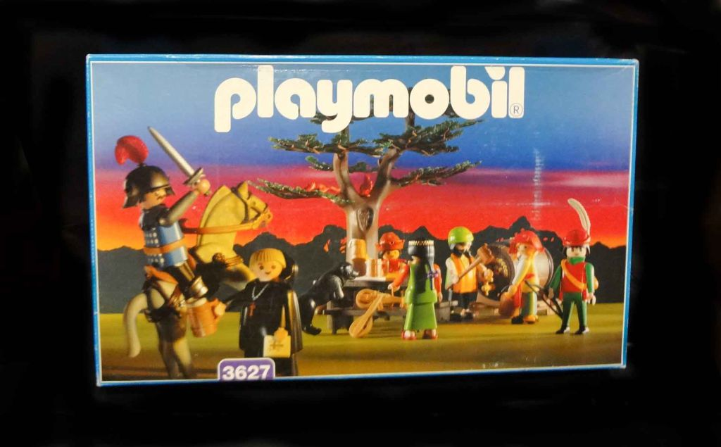 Playmobil 3627 - Merry Men's Feast - Box