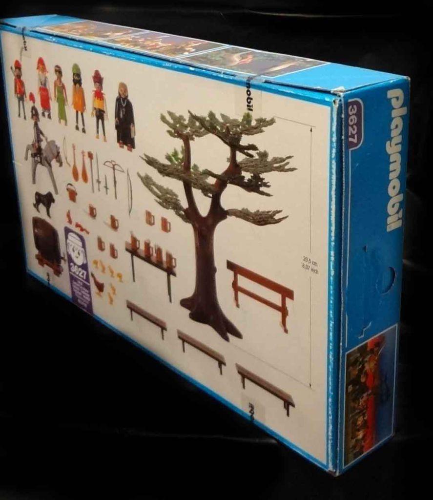 Playmobil 3627 - Merry Men's Feast - Back