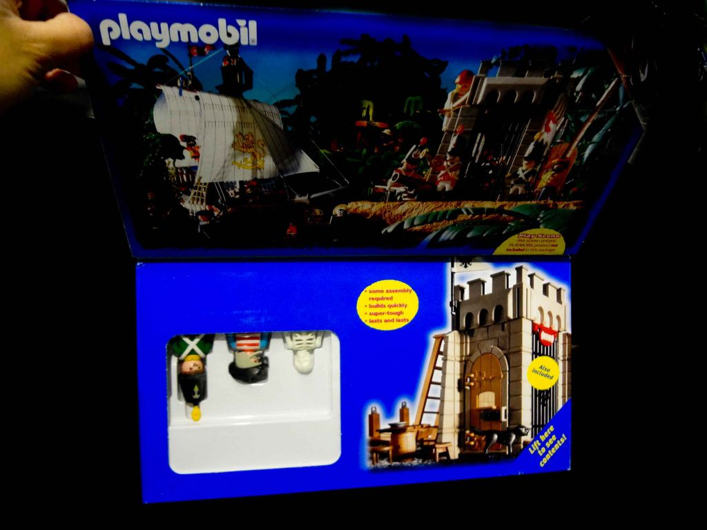 Playmobil 3914-usa - Prison tower - Box