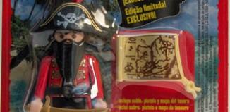 Playmobil - R001-30792493-esp - Capitán Pirata (Revista n.1)
