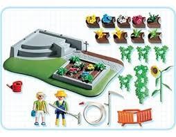 Playmobil 3134s3 - Flower Garden - Back