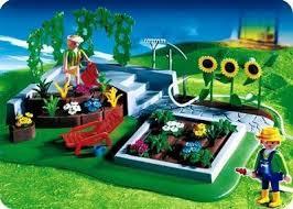 Playmobil 3134s3 - Flower Garden - Box
