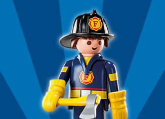 Playmobil - 5284v7 - Fireman