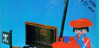 Playmobil - 3570v1-ant - pirate / rowboat