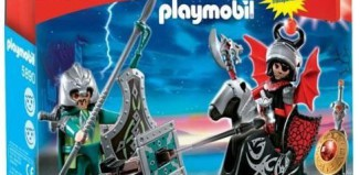 Playmobil - 5890-usa - Sortierbox Drachenritter