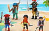 Playmobil - quick magic box piratas promocionales