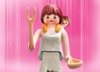 Playmobil - 5204v10 - Stone age woman with baby
