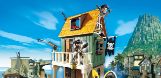 Playmobil - 4796 - Camouflage Pirate Fort