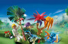 Playmobil - 6687 - Lost Island with Alien and Raptor