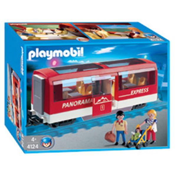 Playmobil 4124 - Panorama Express Rail Car - Box