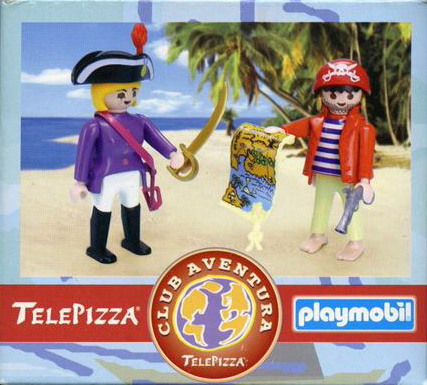 Playmobil 0000v1-esp - Telepizza Give-away Pirates - Box