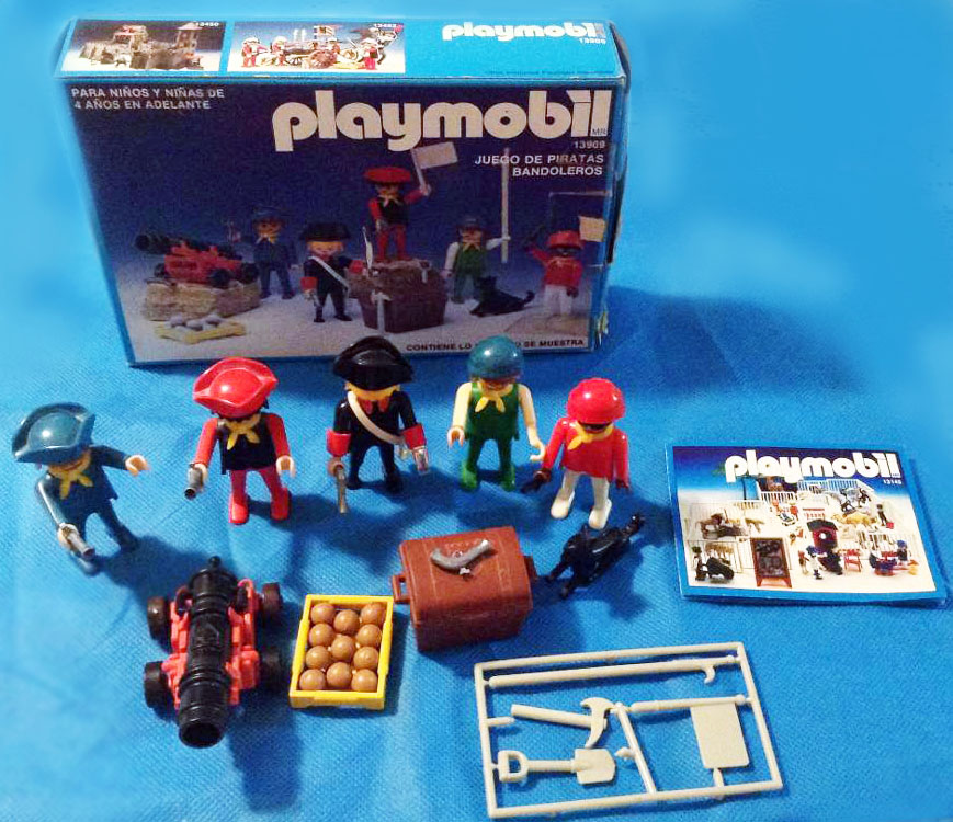 Playmobil 13909-aur - Pirate-bandits set - Box