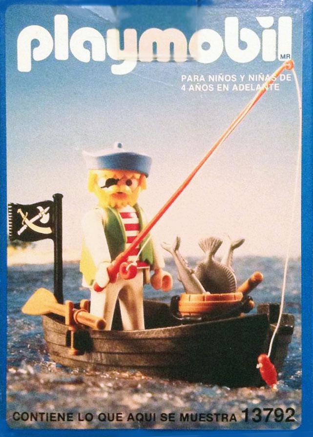 Playmobil 13792-aur - pirate fishing - Box