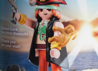 Playmobil - 0000v1-ger - Nüremberg Toy Fair Give-away Pirate
