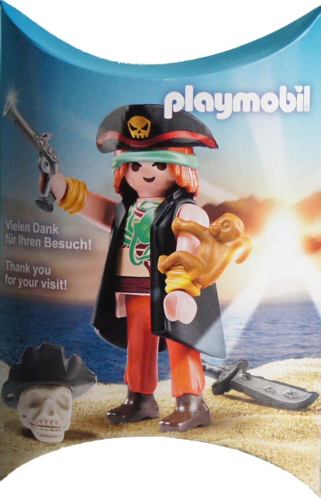 Playmobil 0000v1-ger - Nüremberg Toy Fair Give-away Pirate - Boîte