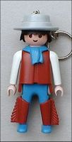 Playmobil - 30653880 - Cowboy with blue scarf
