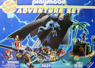 Playmobil - 3029-usa - adventure set pirates