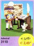 Playmobil 3110s2v2 - Admiral - Box