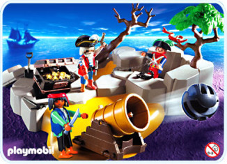 Playmobil - 3127-usa - Piraten StarterSet
