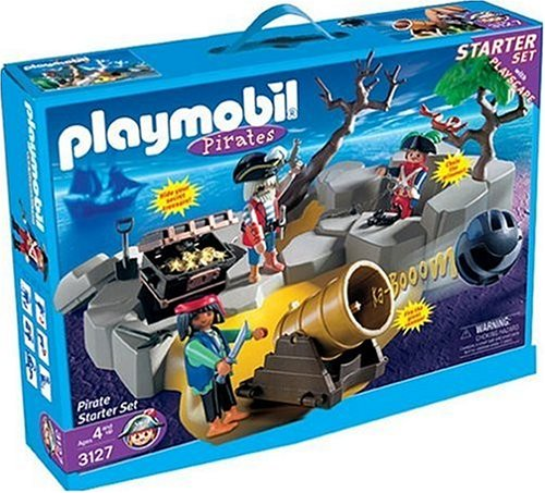 Playmobil 3127-usa - pirate starter set - Back