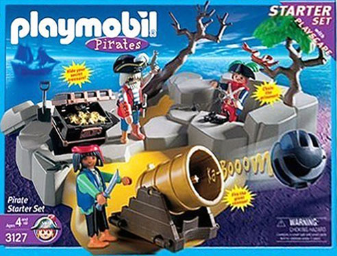 Playmobil 3127-usa - Piraten StarterSet - Box