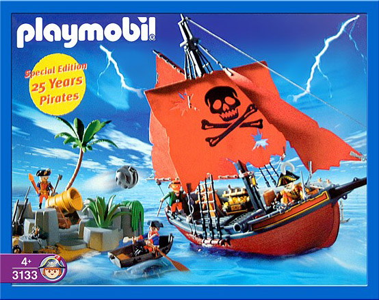 Playmobil 3133 - special edition 25 años pirates - Box