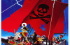 Playmobil - 3174v1 - red pirateship