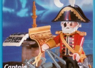 Playmobil - 3369-usa - captain ene-eye