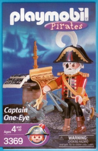 Playmobil 3369-usa - captain ene-eye - Box