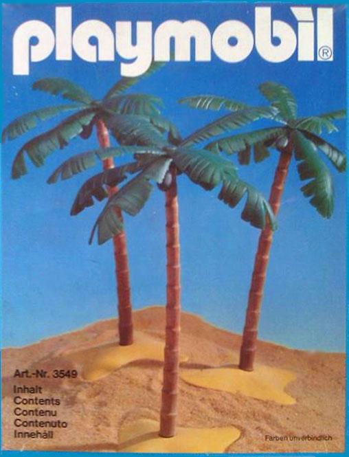 Playmobil 3549 - 3 Palm Trees - Box